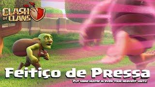 NOVO FEITIÇO DE ELIXIR NEGRO DE PRESSA OU VELOCIDADE no Clash of Clans