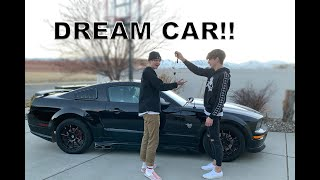 BUYING My BROTHER His DREAM CAR!!