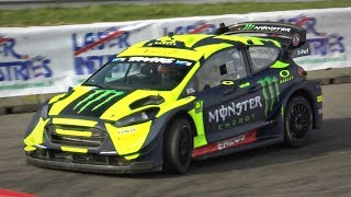 Valentino Rossi's NEW Ford Fiesta WRC Plus @ 2018 Monza Rally Show!