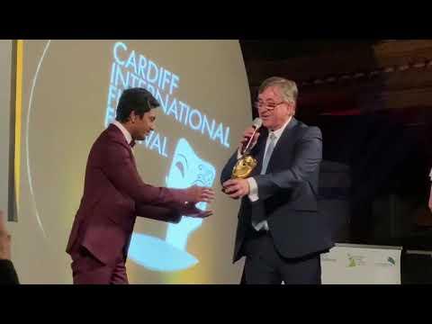 Nawazuddin Siddiqui receives Golden Dragon Award at #CIFF2019