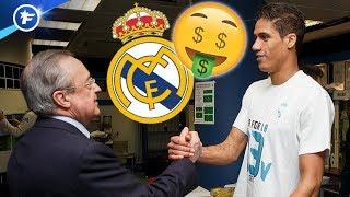 Le plan du Real Madrid pour garder Raphaël Varane | Revue de presse