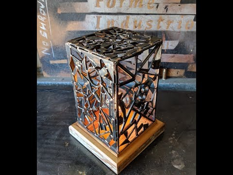 Make a Lamp from Scrap  - Forme Industrious