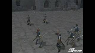 Suikoden IV PlayStation 2 Gameplay - Four on two