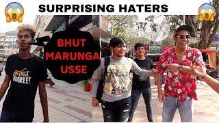 Surprising Haters | Gali Dete Hue Pakad Liya *REACTION*