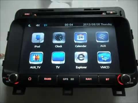 Auto Dvd System For Kia Optima 2014 2015 Car Gps