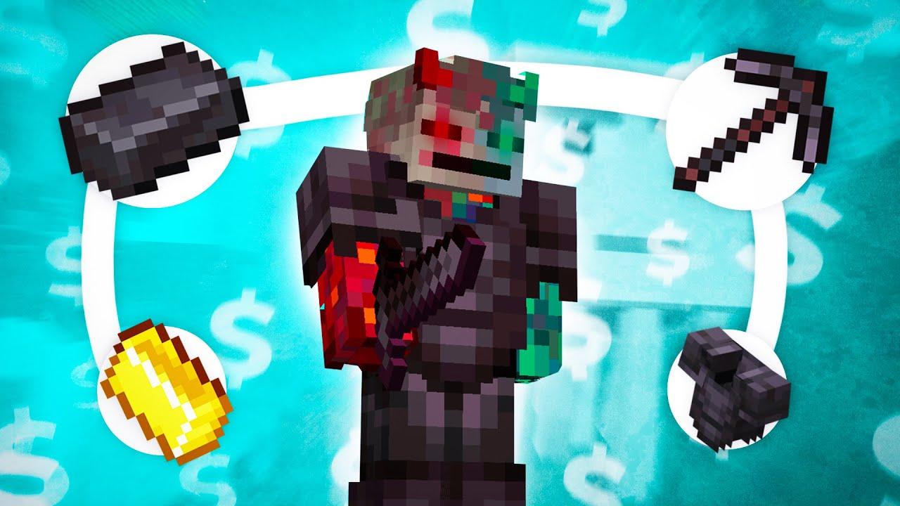 Я стал самым богатым в Minecraft