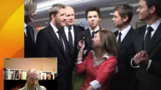 Backstage with Celtic Thunder