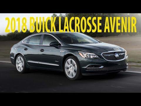 Look This !!! 2018 Buick Lacrosse Avenir Gets Dash Of Flash