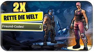 2x FREE RETTE THE WORLD LOSATION | Fortnite RdW German