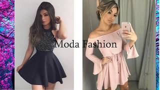 VESTIDOS ELEGANTES DE MODA PARA SEÑORAS || ELEGANT DRESSES FOR LADIES Juveniles 2019