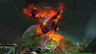 Dota 2 Unusual Baby Roshan (Trail of Burning Doom)