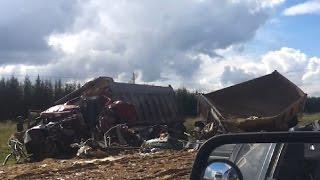 Аварии грузовиков Сентябрь 2015 Truck Crash Compilation September 2015