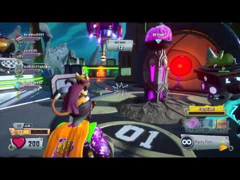 PVZ GW2 سلسلة تجربة الشخصيات -(party brains)