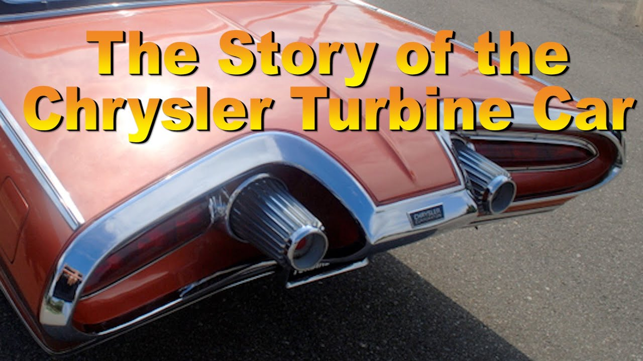 Chrysler turbine car engine