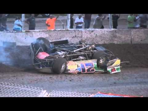 Plymouth Dirt Track Late Model Flip