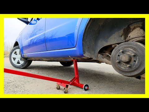 New!!! Incredible Life Hack for the Driver! Homemade Car Jack