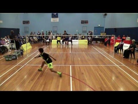 2016 Australasian Under 17 Badminton Championships - Boys Singles Final