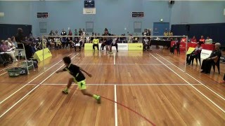 Kai Chen Teoh (WA) vs Charlie Jap (VIC) Umpire Jerome Gomez Video f...