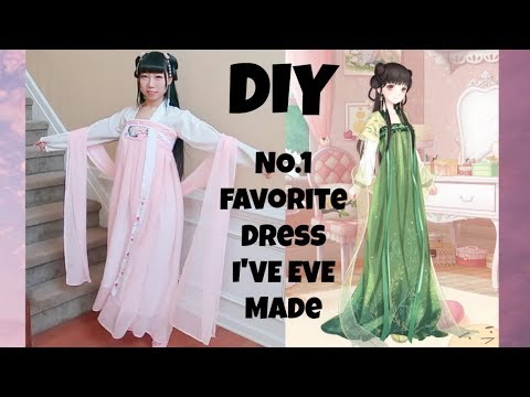 DIY NO.1 Favorite Chinese Dress I Have Ever Made+ Where to Get Beautiful Fashion Inspirations?