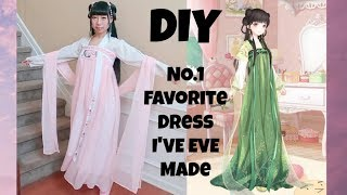Download Video DIY NO.1 Favorite Chinese Dress I Have Ever Made+ Where to Get Beautiful Fashion Inspirations? MP3 3GP MP4