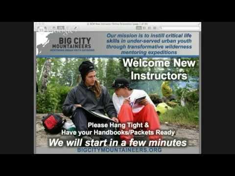 BCM 2014 New Instructor Orientation