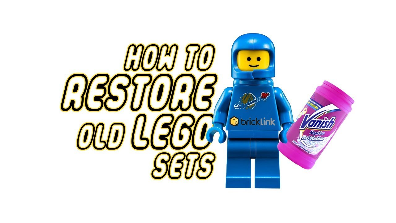 RANDOM HOW TO RESTORE OLD LEGO SETS  YouTube