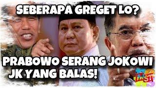 Seberapa Greget Lo? Prabowo S3r4n6 Jokowi, JK Balas!