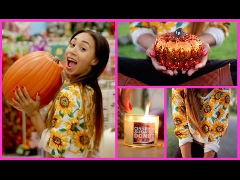 FALL INSPIRATION! ♡ Outfit, Room Decor, Beauty, Candles!   MyLifeAsEva