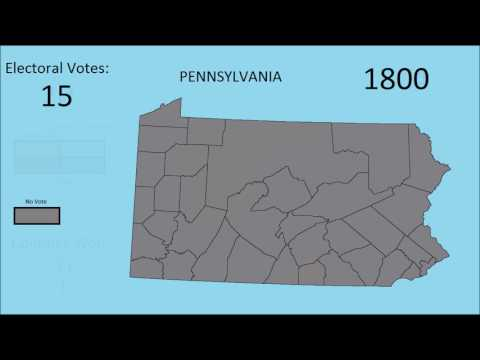 Pennsylvania Counties Presidential Election Preview