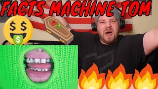 Tom MacDonald - I Hate Hip Hop (REACTION) FACTS MACHINE TOM HAS A FACTS COMING IN!!(NERDY WHITE GUY)