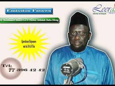 Fatawa Dr Mouhamed Ahmed LO du 18 12 2019