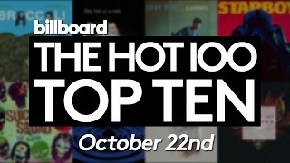 Early Release! Billboard Hot 100 Top 10 October 22nd 2016 Countdown | Official