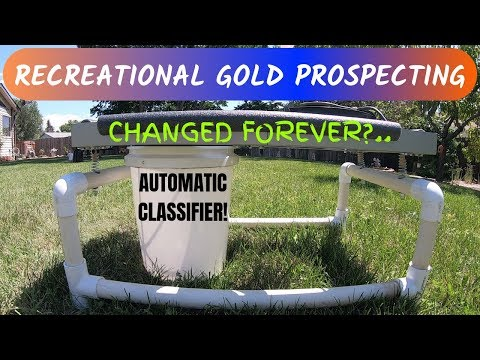 Recreational Gold Prospecting Changed Forever?.. Automatic Classifier!
