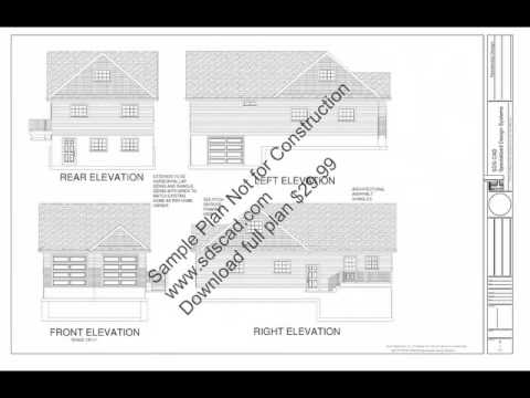 Free Mother in Law Apartment Garage shop blueprint