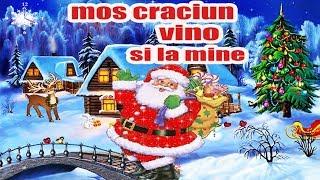 Mos Craciun Vino si la Mine - Cine Este Mos Craciun - Poezii de iarna pentru copii 2019