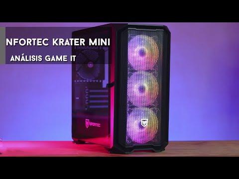 Nfortec Krater Mini review y unboxing   GameIt ES
