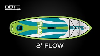 BOTE 2016 Flow Inflatable Paddle Board - Made for the Young 'Uns
