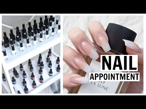 Come With Me to My Nail Appointment! | NAIL FAQ