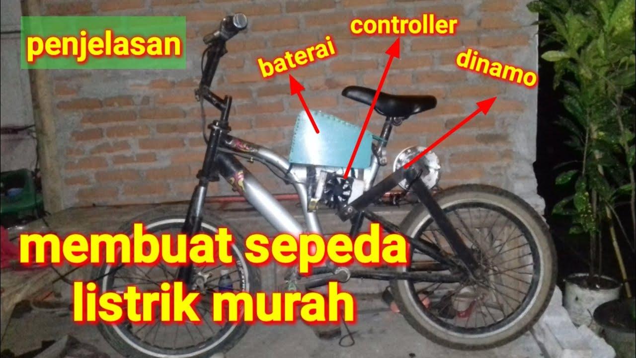 Membuat Sepeda Listrik Sederhana