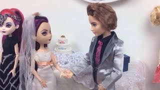 """What If We Were Married?"" 💍 an Ever After High Stop Motion"