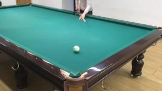 Московская Школа Бильярда Урок №4  Прямые шары