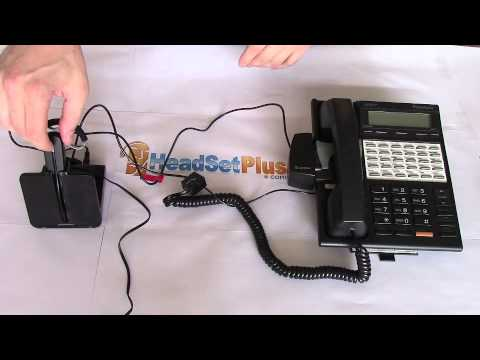 Troubleshoot Setup Plantronics Cs540 When There Is No Dial Tone Youtube