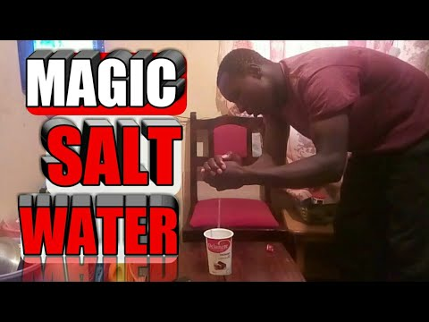 How to turn salt to drinking water Zach king
