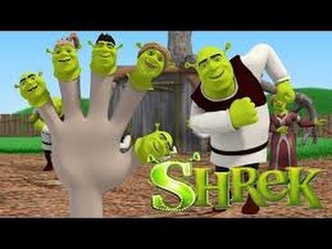 Shrek Head Shoulders Knees And Toes Youtube
