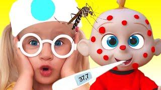 Miss Polly Had a Dolly + more | Lagu Anak-anak dari Katya dan Dima