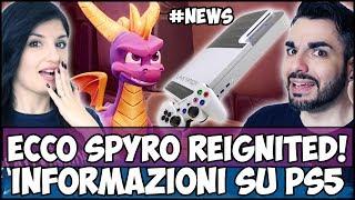 ECCO SPYRO REIGNITED + INFO CONCRETE SU PS5 + SPIDERMAN #NEWS