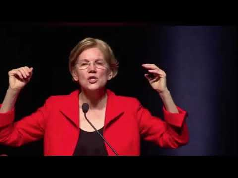 Elizabeth Warren At Women's Event: 'We March In Pink Pussy Hats'