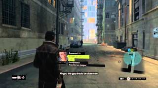 WATCH DOGS CRIME MISSION. (Saving people)
