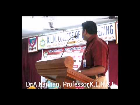 Pattimandram Performance By Dr.A.Kannan, KLNCE In The Founder's Day Celebration Jan'14