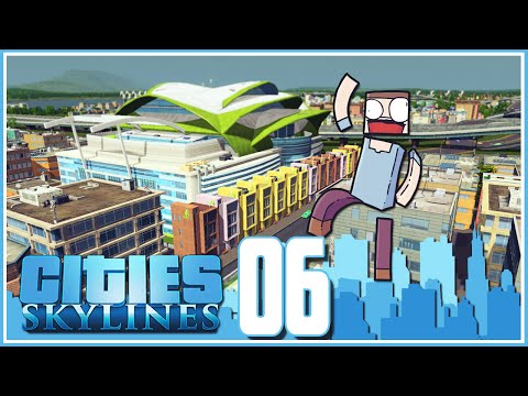 Cities Skylines - Ep.06 : The Expo Center!